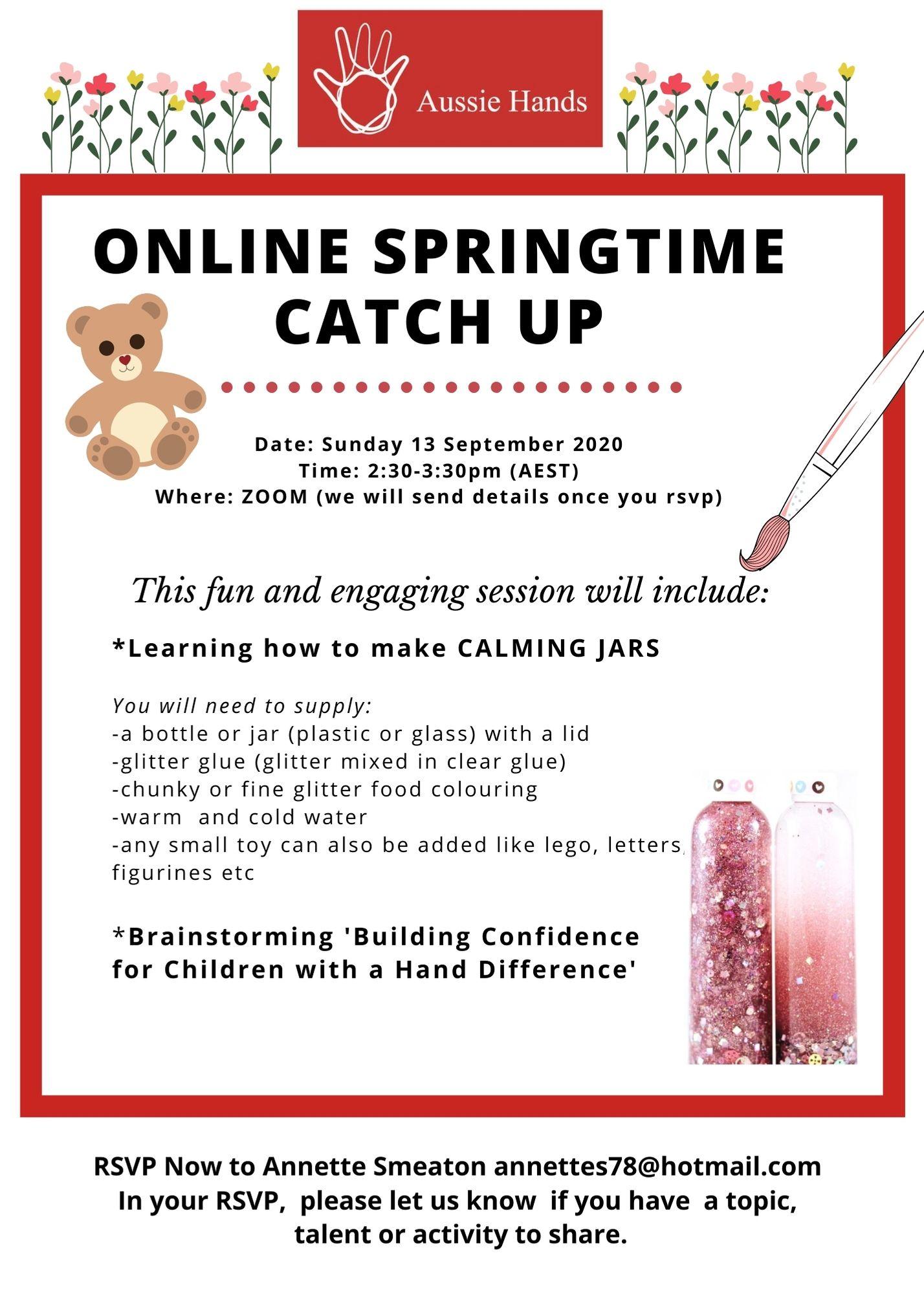 Online Springtime Catch Up