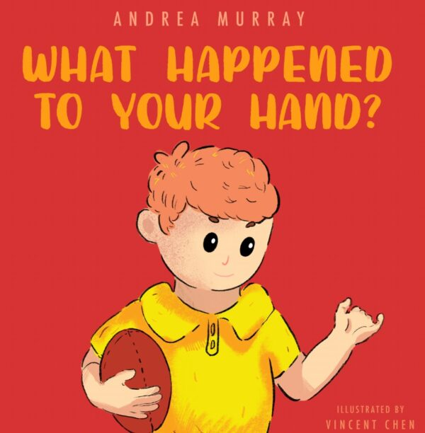 book cover - What happened to your hand